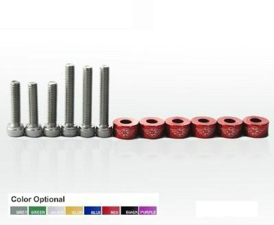 Śrubki zaworu VTec Honda Red - GRUBYGARAGE - Sklep Tuningowy